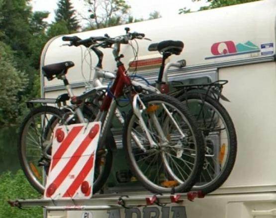 Bagażnik na 4 rowery do przyczepy lub kampera