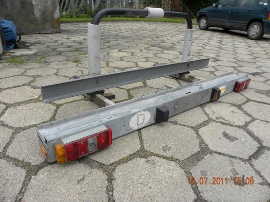 stojak na motor do Kampera