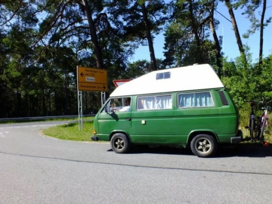 Volkswagen Transporter T3 T25 camper kamper VW T3 kanciak