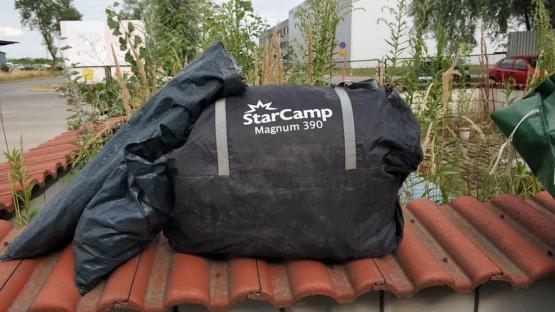 Sprzedam nowy, uniwersalny przedsionek STARCAMP MAGNUM 390 do przyczepy kempingowej