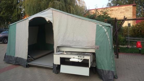 Przyczepa namiotowa Alpen Kreutz 650