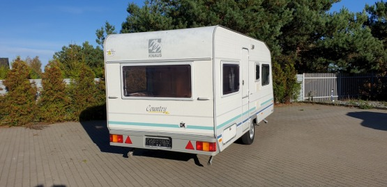 Knaus Sudwind Country 8404 z 1996 roku  + Namiot Isabella