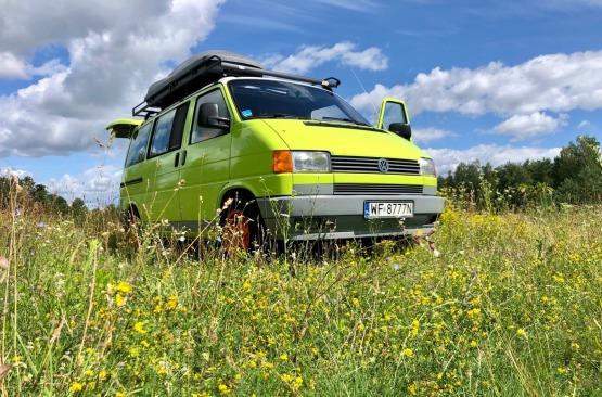 Nie kamper ale spać można i pysznie jeździ VW Multivan 92'