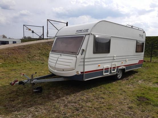 Przyczepa kempingowa Home Car 44, dmc 1300 kg